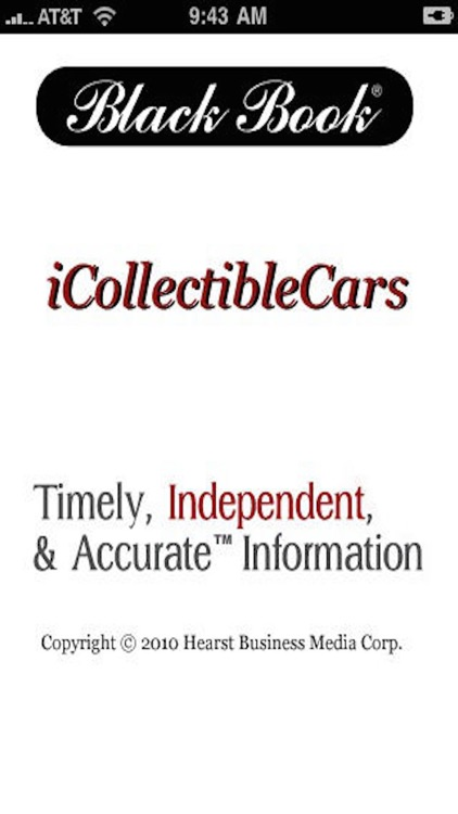 Black Book iCollectible Cars