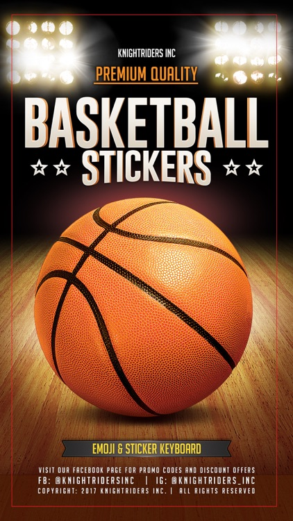 BasMoji - basketball emoji & stickers keyboard app screenshot-0