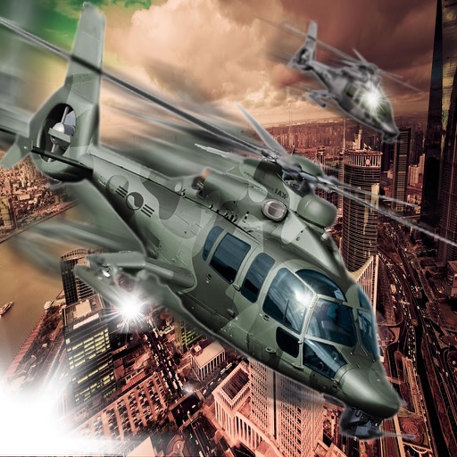 Competition Black Hawk - Helicopter Flight Simulator icon