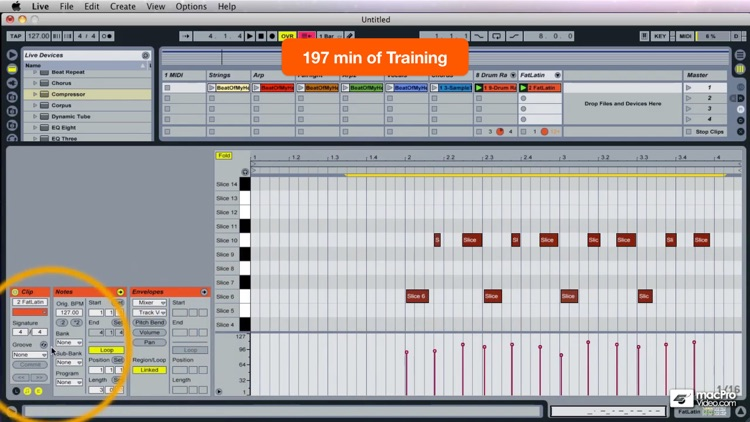 Course For Live 8 Remixing screenshot-4