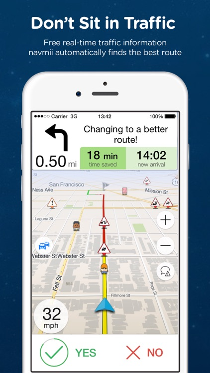 Navmii GPS USA: Offline Navigation and Traffic