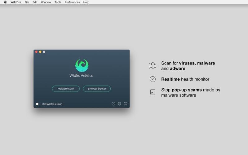Wildfire Antivirus Screenshot - 1