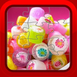 Candy Cupcake Jigsaw Puzzles for Kids and Toddlers