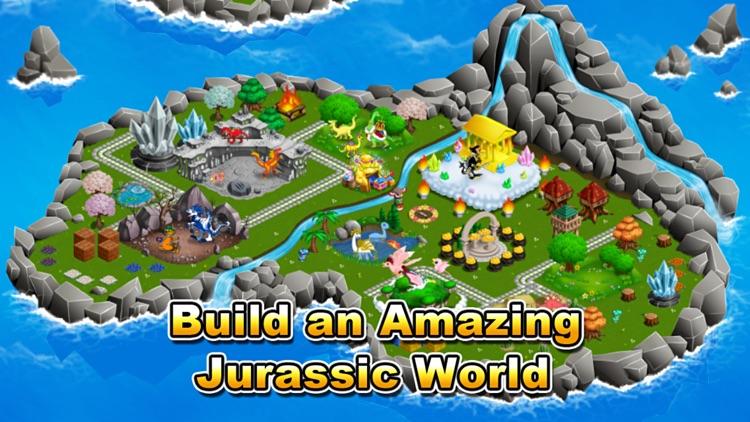 Jurassic Story Dragon Games - Dinosaur City Game screenshot-0