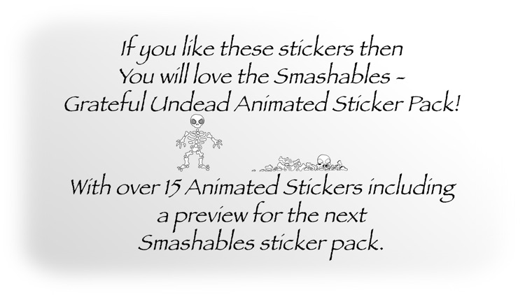 Smashables - Grateful Undead (Stickers Only) screenshot-4