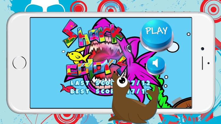 Sharks Coloring Quiz Puzzle Baby Kids 2 3 4 Years by ...