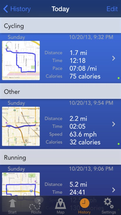 Fitness Tracks - GPS Running, Walking, Cycling, Hiking, Route Planning, Workout, Activity and Calorie Tracker screenshot-4