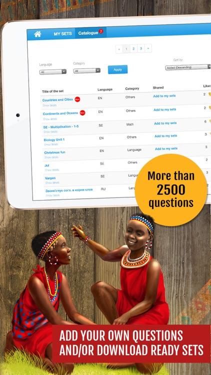 Safari Quest - board game for kids, family, school screenshot-3