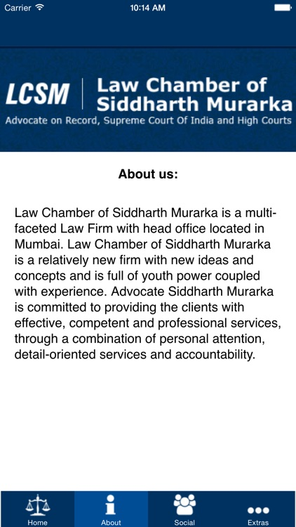 Law Chamber Siddharth Murarka screenshot-3