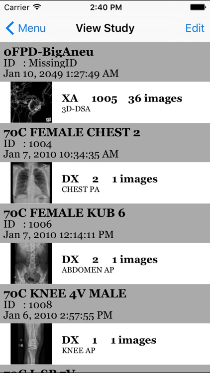 iMedViewer-Lite screenshot-3