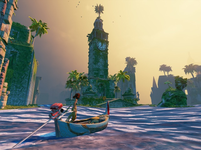 Submerged: Miku and the Sunken City Screenshot