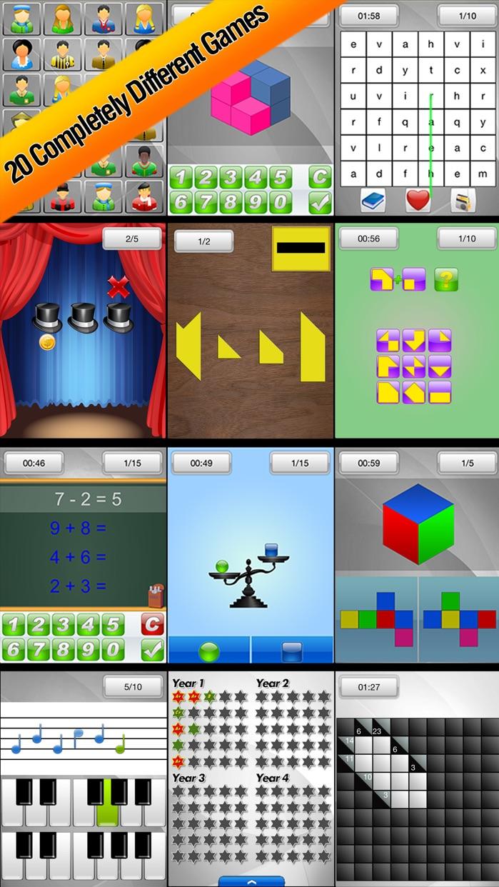 Brain School™ - Training Games Screenshot