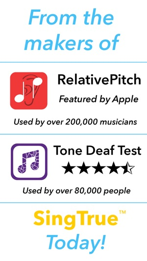 SingTrue: Learn to sing in tune, pitch perfect on the App Store