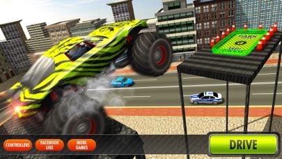 City Climb Monster Truck Hard Parking Simulator 3D