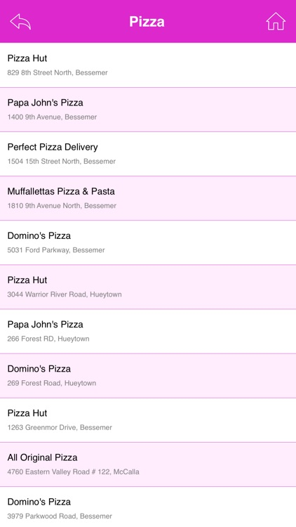 Best App for Pizza Hut Locations screenshot-4