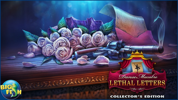 Danse Macabre: Lethal Letters - A Mystery Hidden Object Game (Full) screenshot-4