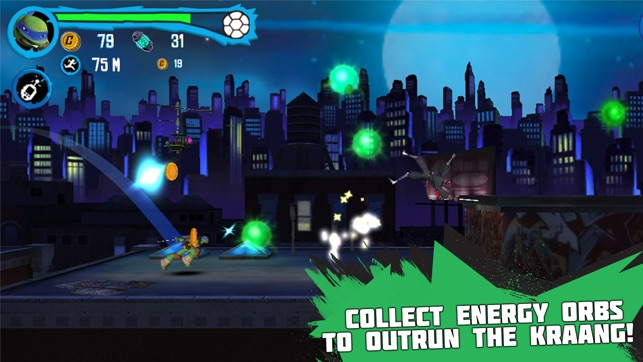 Teenage Mutant Ninja Turtles: Rooftop Run Screenshot