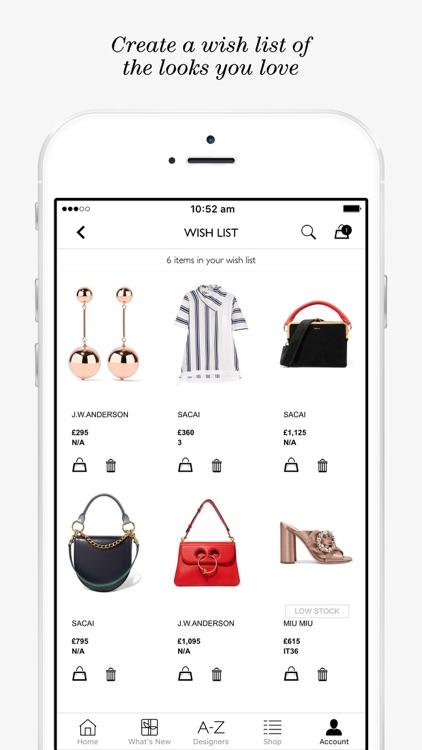 NET-A-PORTER | Luxury Fashion screenshot-3