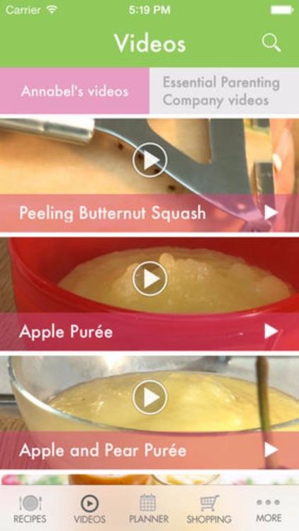 Annabel Karmel's Baby & Toddler Recipe App screenshot-3