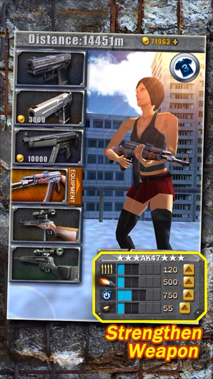 3D City Run Hot-The most classic girl zombie game!