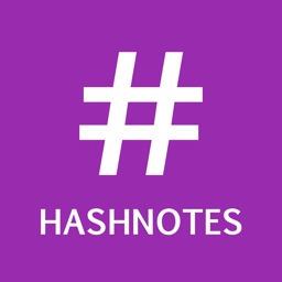 HashNotes - The fastest way to take notes