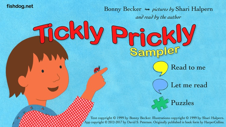 Tickly Prickly Sampler screenshot-3