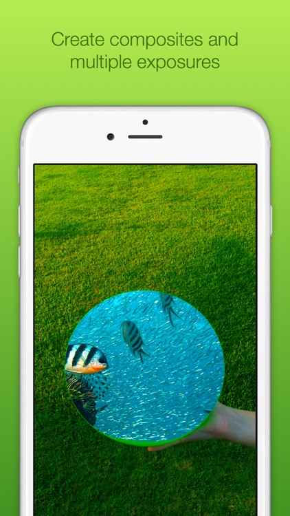 Chromatic Camera - Green Screen Photo Booth screenshot-3