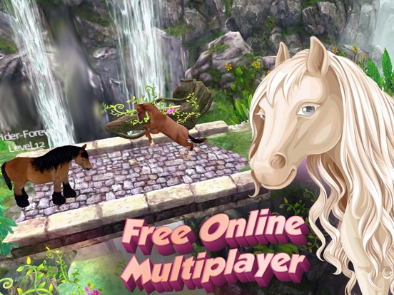 Horse Quest Online 3D Simulator - My Multiplayer Pony Adventure для iPad