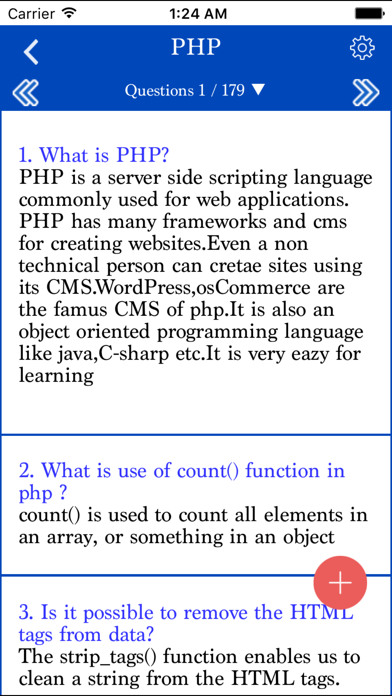 PHP Interview questions with answer screenshot two