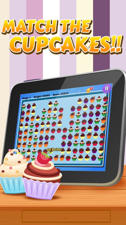 Crazy Cupcake Matching Mania