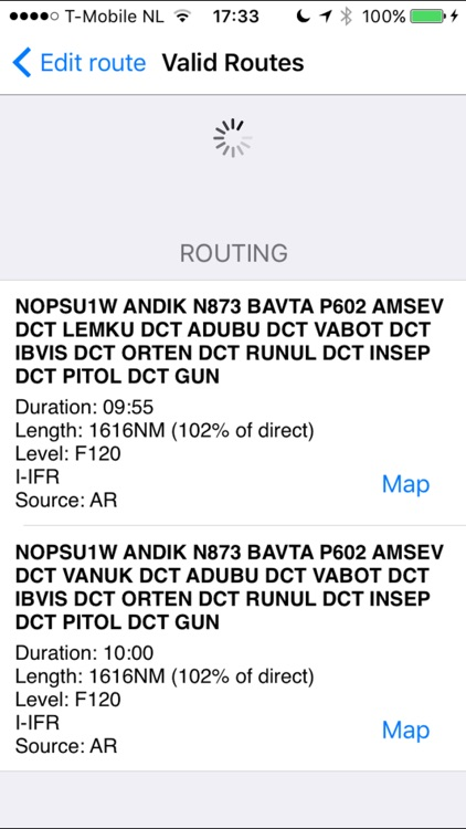 AeroPlus FlightPlan - VFR/IFR screenshot-2