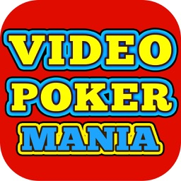 Video Poker Mania - FREE Classic Vegas Video Games