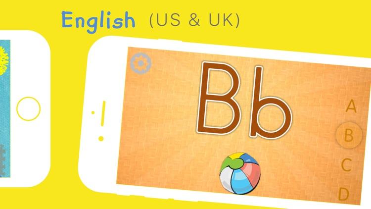 Alphabet - ABC in 5 languages for children