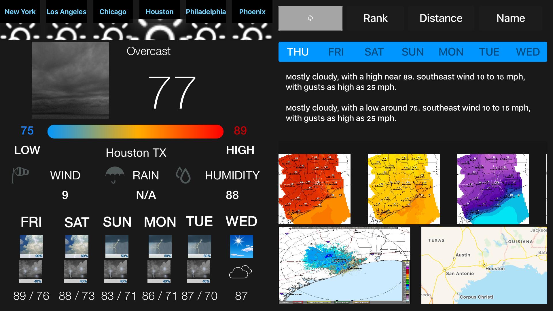 Instant NOAA Weather Forecast screenshot 16