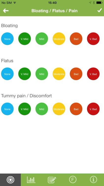 IBS Diet & Low-FODMAP Tracker