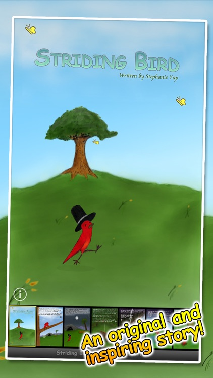 Striding Bird - An inspirational tale for kids screenshot-0
