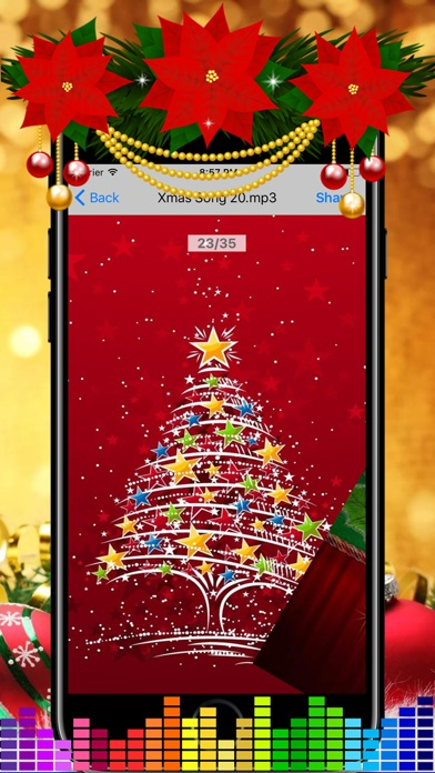 screenshot 9 for christmas songs collections xmas countdown timer