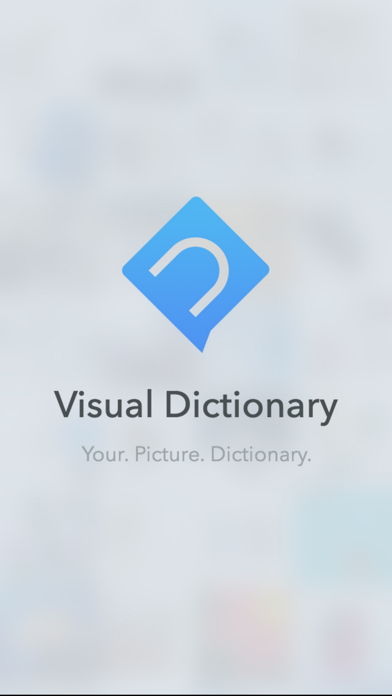 Visual dictionary EN-ES screenshot one