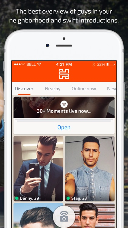 Hanky - Gay dating, flirt and fun by live selfies screenshot-3