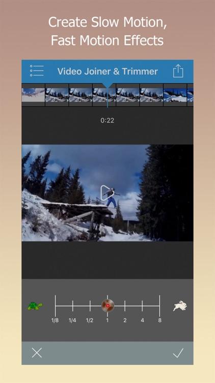 Video Joiner & Trimmer screenshot-3