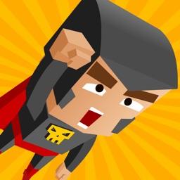 Jungle Superhero Jump - Batman Version