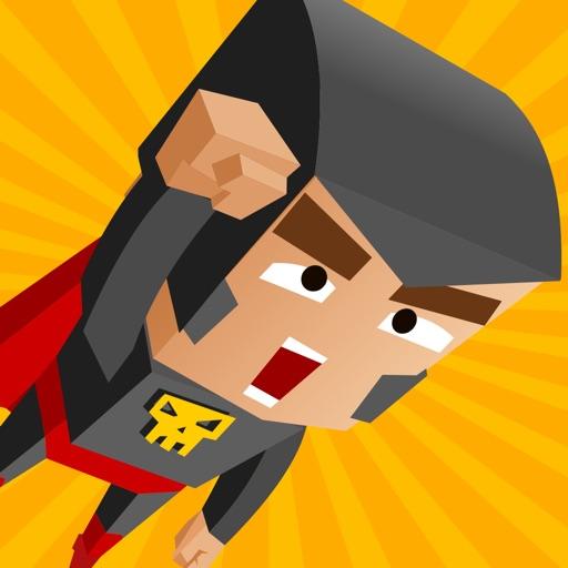 Jungle Superhero Jump - Batman Version iOS App