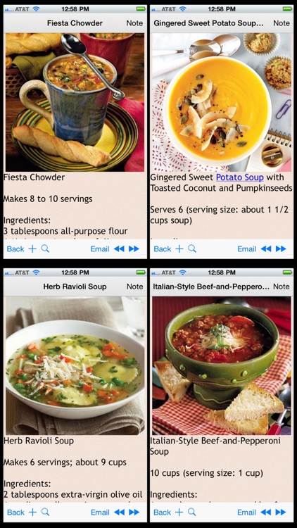 Soup and Stew Recipes Plus+