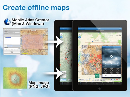 Mobile Atlas Creator Map Sources