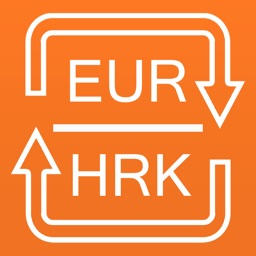 Euros to Croatian Kunas currency converter