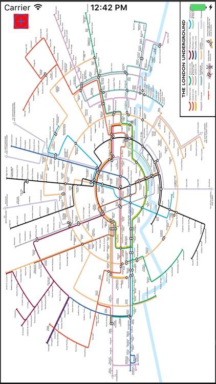 me 2 tube London Underground screenshot-4