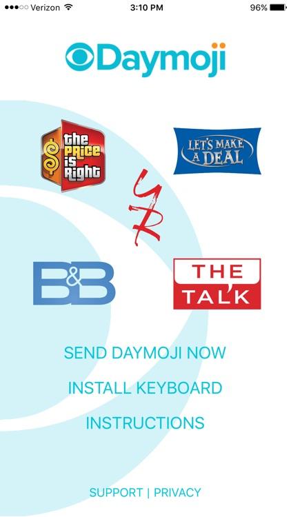 CBS Daytime Daymoji Keyboard