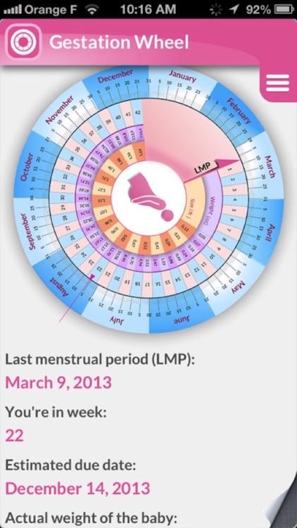 My Pregnancy: To follow & enjoy your pregnancy