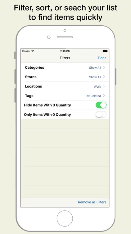 Pantry Manager: Shopping list and grocery management screenshot-3