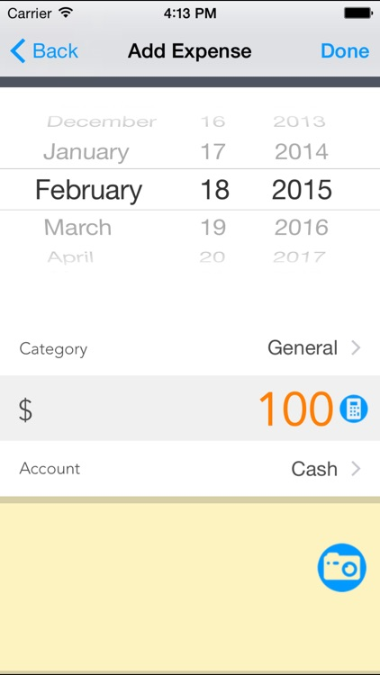 Expense Tracker - Pocket Edition
